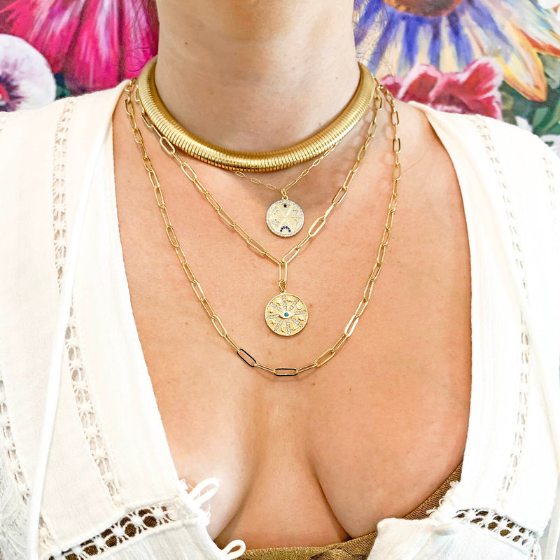 Eifar Necklace-    GOLD COLLECTION - HotRocksJewels