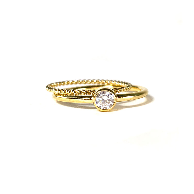 Classic Ring-     GOLD COLLECTION - HotRocksJewels