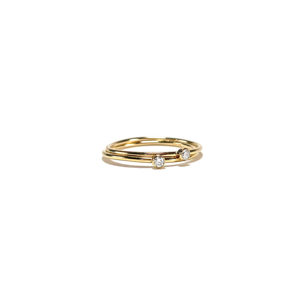 Promise Ring-    GOLD COLLECTION - HotRocksJewels
