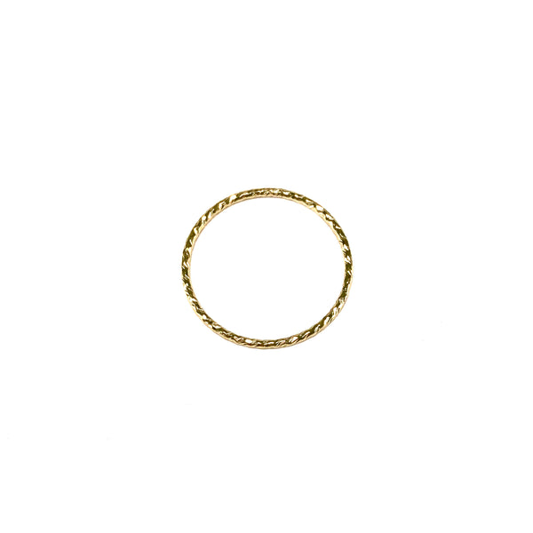 Hammered Ring-     GOLD COLLECTION - HotRocksJewels