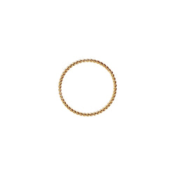 Twist Ring-      GOLD COLLECTION - HotRocksJewels