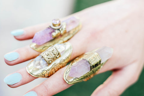 Amethyst Harlot Ring - MUSE COLLECTION