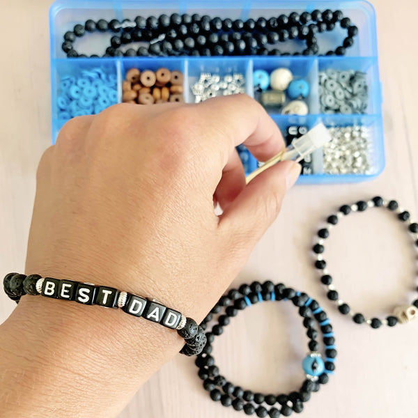 DIY Bracelet Kit-       MEN'S COLLECTION - HotRocksJewels