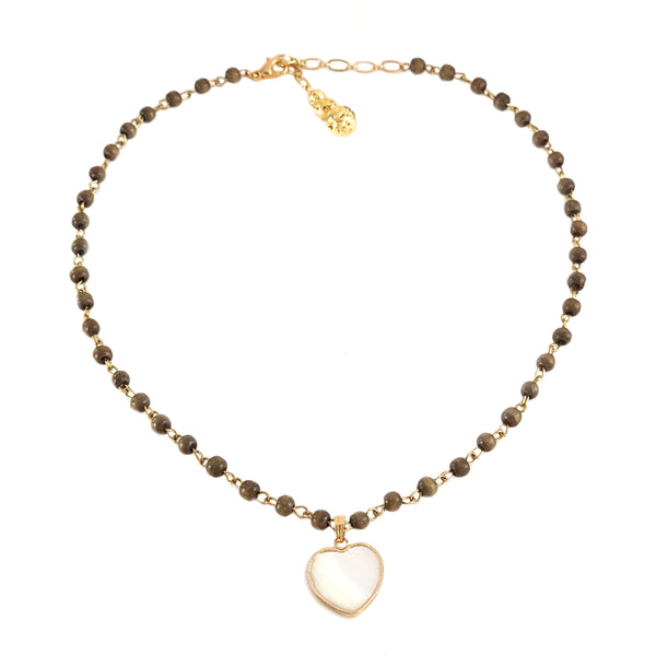 Lena Necklace - ELEMENTS COLLECTION - HotRocksJewels