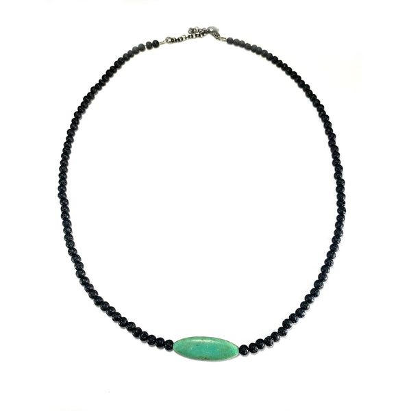Men's Cornerstone Necklace -         Turquoise - HotRocksJewels