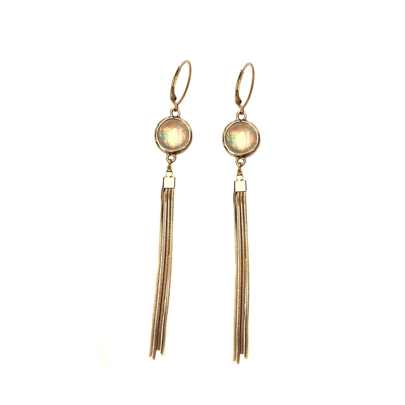 Hopal Tassle Earrings-     MUSE COLLECTIONS - HotRocksJewels