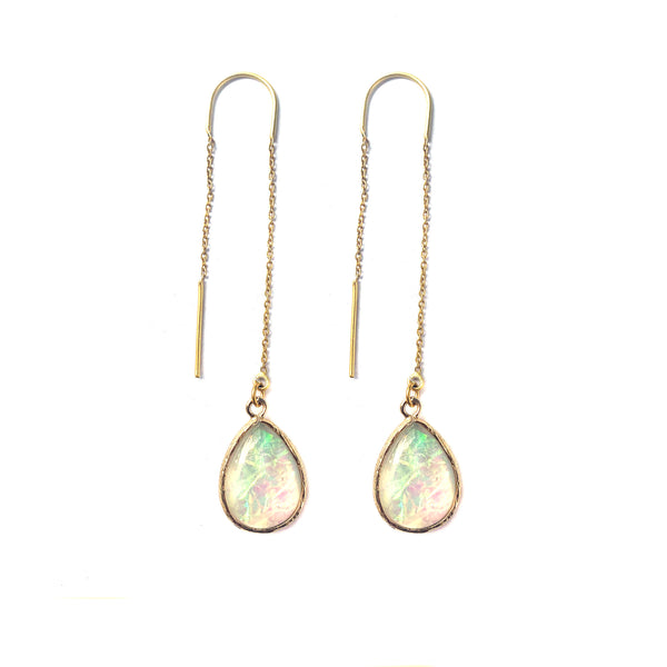 Hopal Chain Earrings-      MUSE COLLECTION - HotRocksJewels