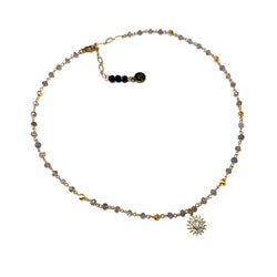 Soli Charm Necklace-      MUSE COLLECTION - HotRocksJewels
