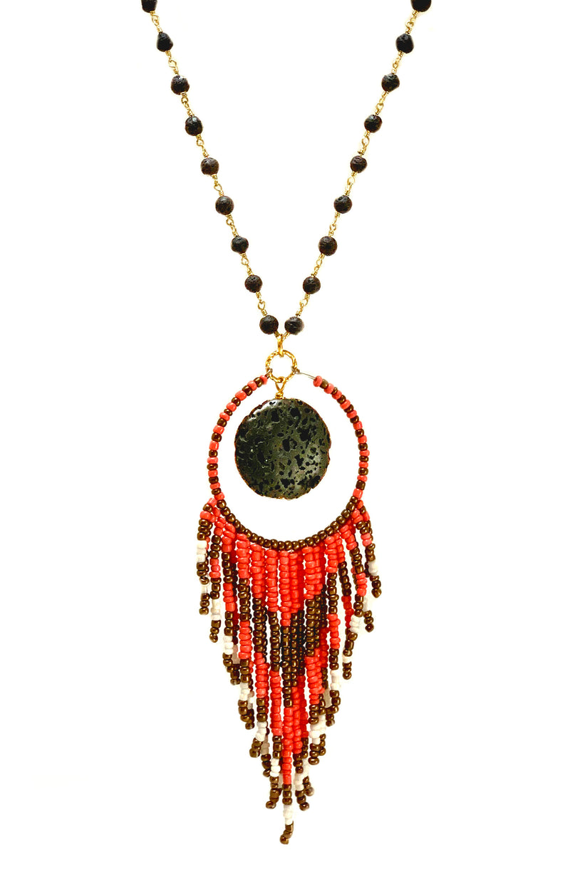 Opus Necklace - GAIA COLLECTION - HotRocksJewels