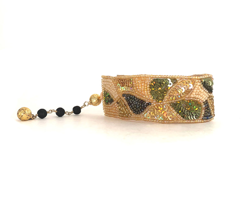 Goldie Cuff Bracelet - PLAYA COLLECTION - HotRocksJewels
