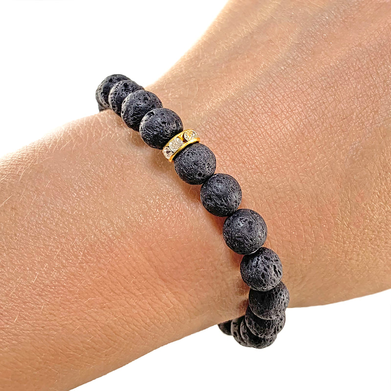 Simply Lava Bracelet - THE SIMPLY LAVA COLLECTION - HotRocksJewels