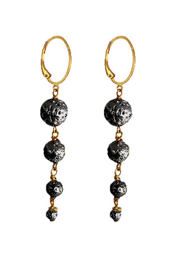 Astor Lava Earrings - SIMPLY LAVA COLLECTION - HotRocksJewels