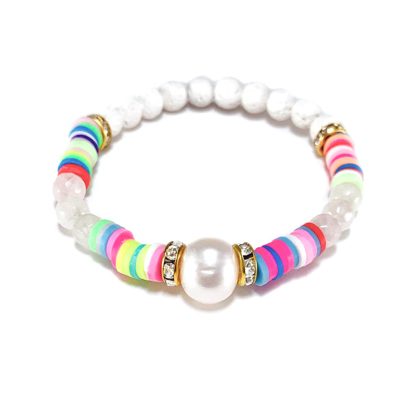 Sula Pearl Bracelet-     Viva Collection - HotRocksJewels