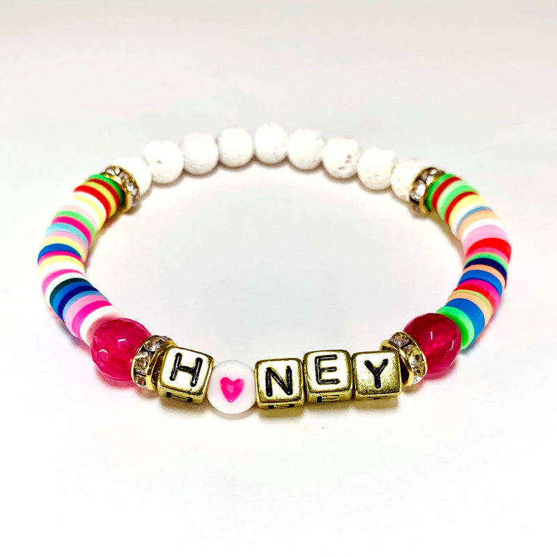 Word Bracelets-      VIVA COLLECTION - HotRocksJewels