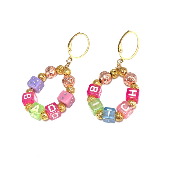 Bad Bitch Earrings-      VIVA COLLECTION - HotRocksJewels