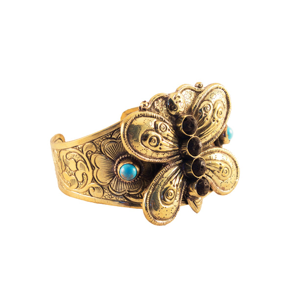 Butterfly Cuff - ARTISAN COLLECTION - HotRocksJewels
