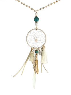 Dreamcatcher Necklace - PLAYA COLLECTION - HotRocksJewels