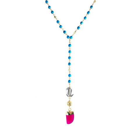 Sirus Necklace-    PLAYA COLLECTION - HotRocksJewels
