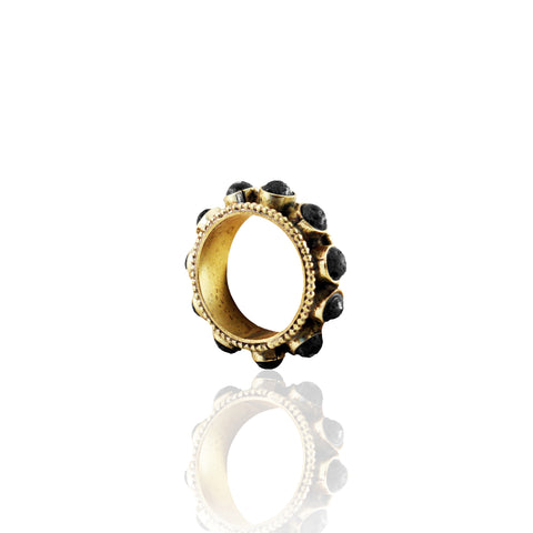 LAVA BANGLE RING