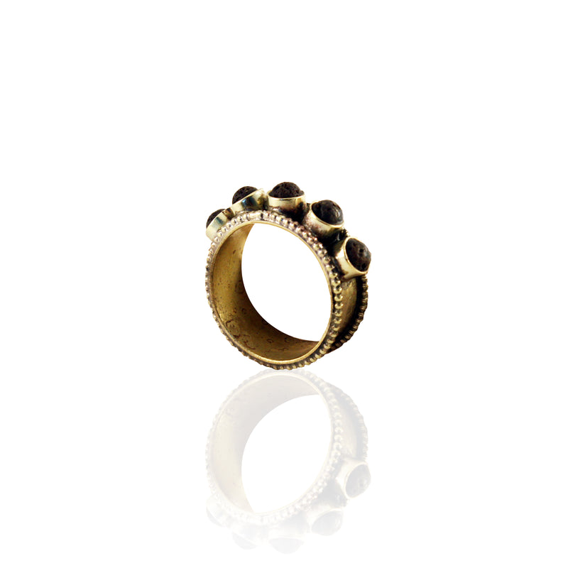 Lady Lava Ring - ARTISAN COLLECTION - HotRocksJewels