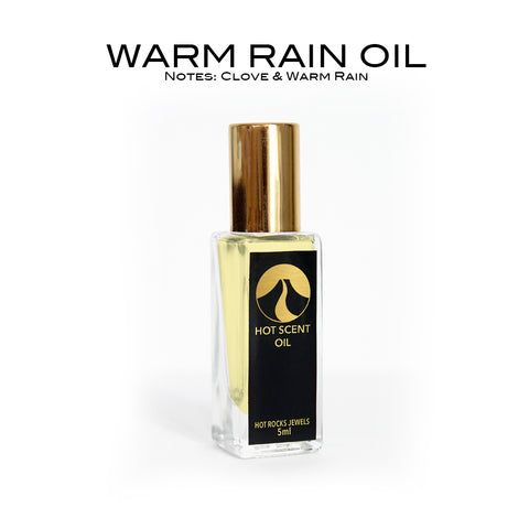 WARM RAIN OIL - HotRocksJewels