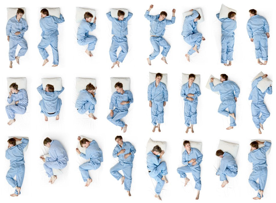 Don't Roll Over on Sleep: The Low Down on All the Different Sleep Positions