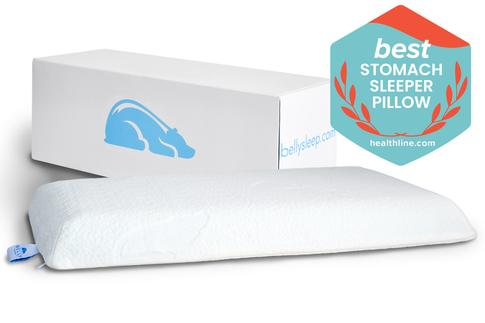 Belly Sleeper / Cotton Pillowcase Combo