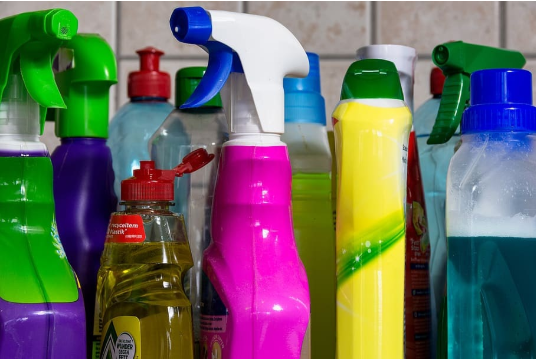 Household cleaners in septic tanks