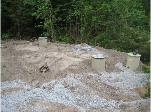 Septic Tank Worksite