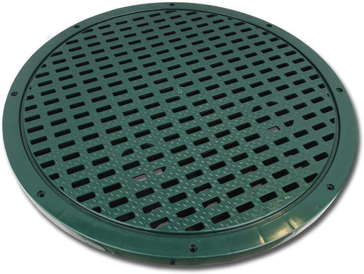 "Polylok 24"" Heavy Duty Grate for Corrugated Pipe (3008-G24) - SepticTank.com"