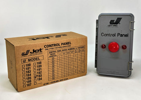 Jet 193 Control Panel for Jet Aeration Septic System - Wastewater Pro