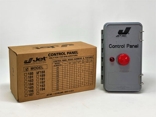 Jet 188 Control Panel for Jet Aeration Septic System - Wastewater Pro