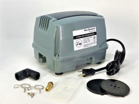 Blue Diamond ET100+ Plus - Septic or Pond Linear Diaphragm Air Pump with FREE additional Air Filter - SepticTank.com