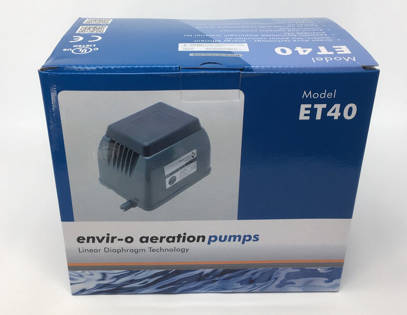 Blue Diamond ET40 Septic or Pond Linear Diaphragm Air Pump by Blue Diamond Pumps - Wastewater Pro