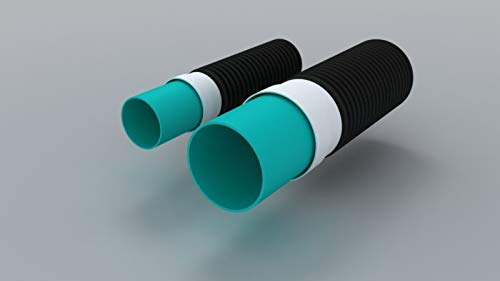 "Polylok 6"" Corrugated Pipe Adapter (6"" corrugated to 6"" SDR 35 or 6"" SCH 40) - SepticTank.com"