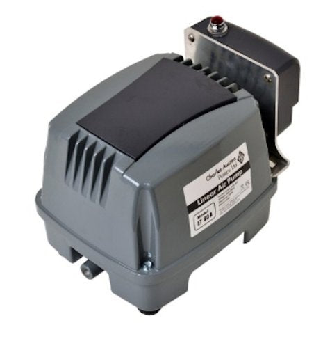 Blue Diamond ETA 80 Septic or Pond Linear Diaphragm Air Pump with built in Alarm - Wastewater Pro