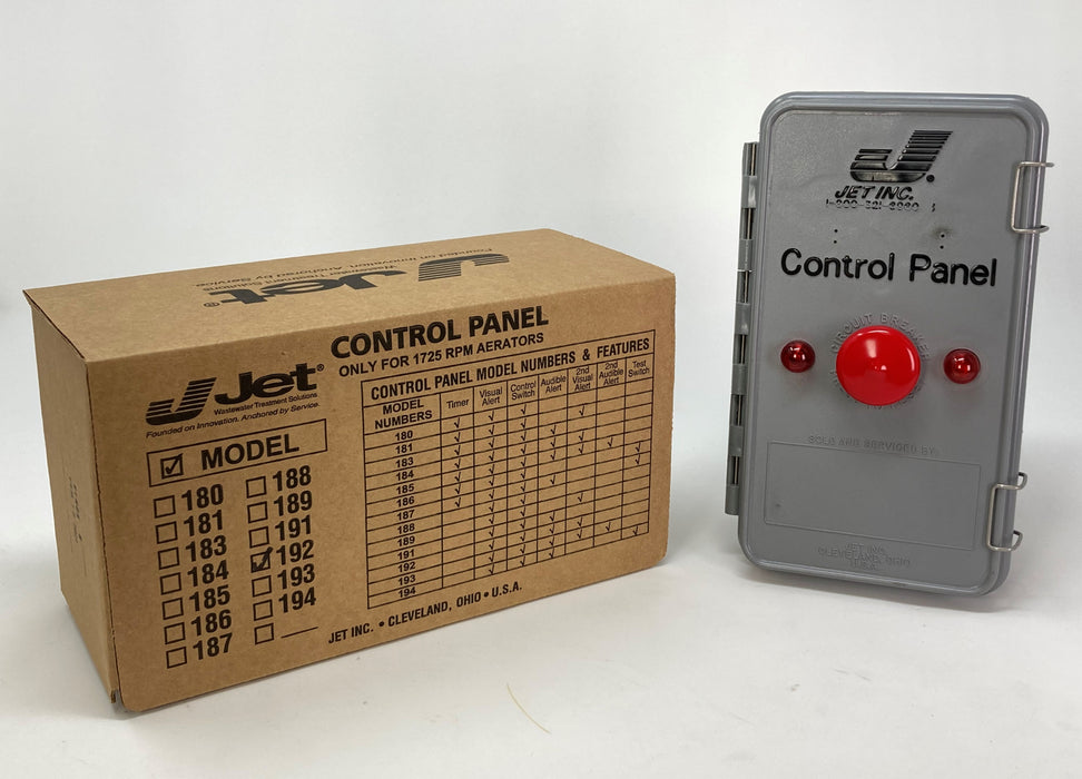 Jet 192 Control Panel for Jet Aeration Septic System - Wastewater Pro