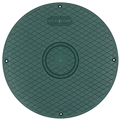 "Polylok 3017-C 12"" Septic Tank Riser Cover - Wastewater Pro"