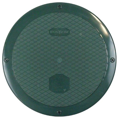"Polylok 300415-C 15"" Flat Septic Cover for use with Corrugated Pipe - Wastewater Pro"