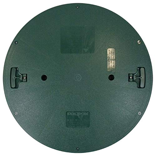 "Polylok 3009-RC 20"" Septic Distribution Box or Septic Tank Riser Solid Cover - Wastewater Pro"