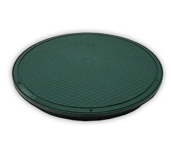 "Polylok 3017-C20 20"" Heavy Duty Septic Distribution Box or Riser Cover - Wastewater Pro"