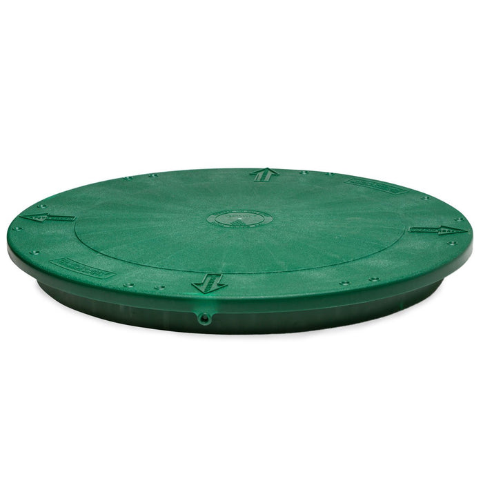"TUF-Tite 20"" Heavy Duty Flat Lid - Septic Tank Lid - Septic Tank Cover - Wastewater Pro"