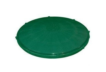 "TUF-Tite 24"" Heavy Duty Flat Riser Lid for TUF-Tite Risers or Corrugated Pipe Risers - Wastewater Pro"