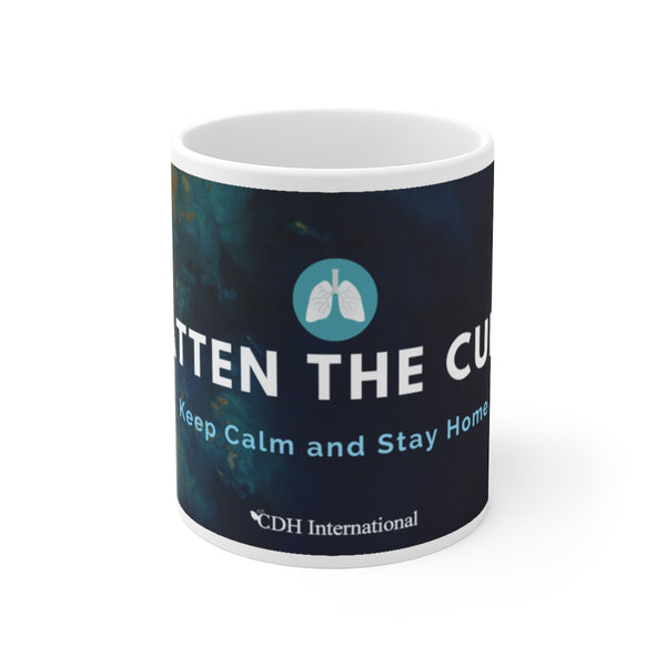 """Flatten the Curve"" Mug 11oz - CDH International"