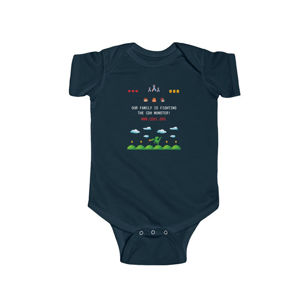 """CDH Awareness Gamer"" Infant Fine Jersey Bodysuit - CDH International"