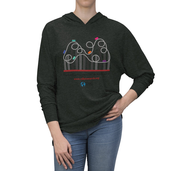 """Currently Riding The CDH Rollercoaster"" Unisex Tri-Blend Hoodie - CDH International"