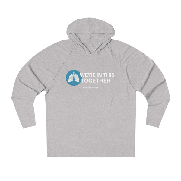 """In This Together"" CDH Awareness Unisex Tri-Blend Hoodie - CDH International"