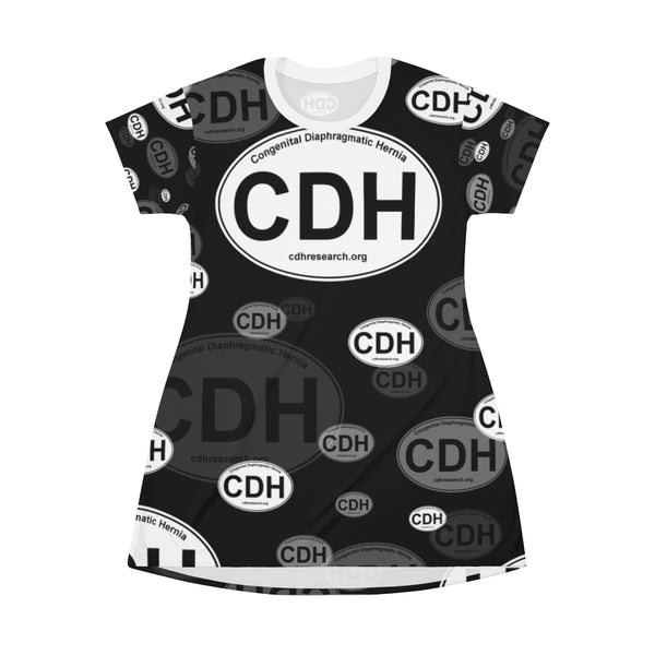 """CDH Awareness"" T-shirt Dress"