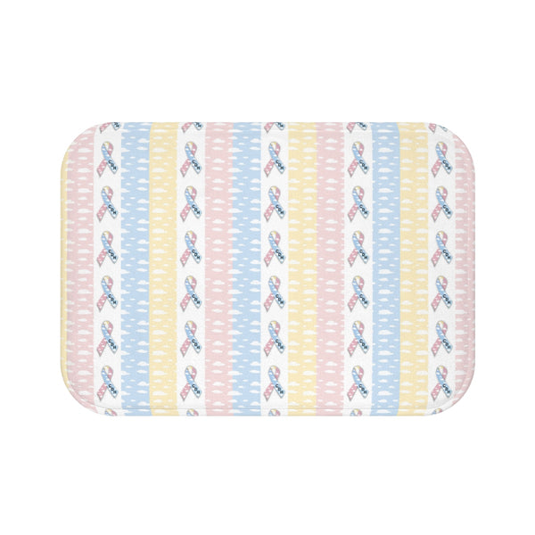 """CDH Awareness Ribbon"" Bath Mat"