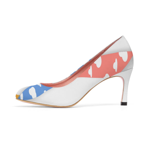 """CDH Awareness Ribbon"" Women's High Heels"